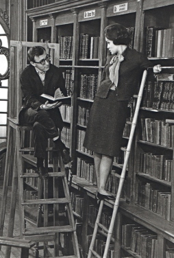 library-old-photography-vintage-woman-woody-allen-favim-com-102666